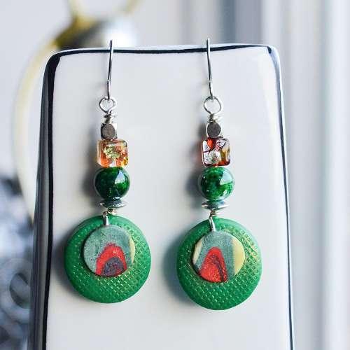 theasmartthenry.co.uk carib green earrings