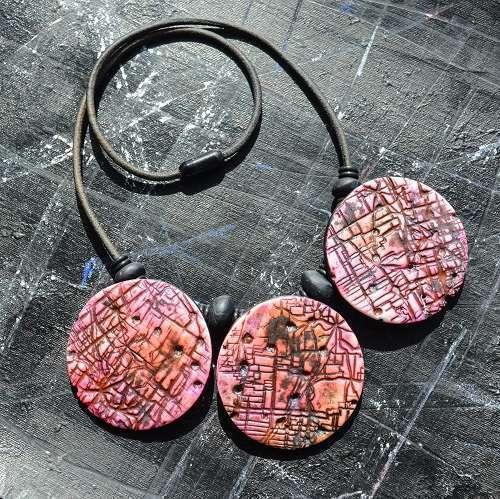 Trio neckpieces