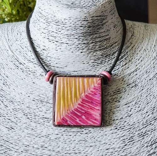 Tile neckpieces